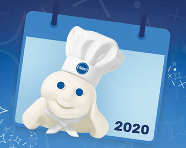 FREE Pillsbury 2020 Recipe Calendar Giveaway   Hunt4Freebies