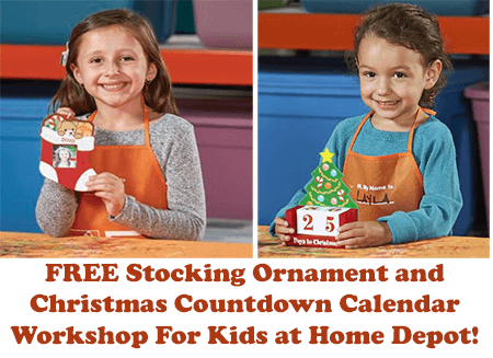 Free Christmas Countdown Calendar Workshop For Kids At Home